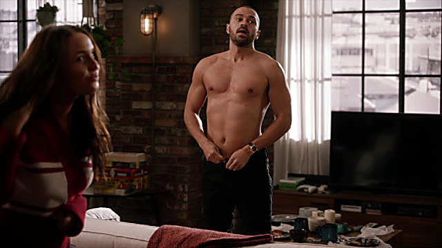 Jesse Williams sexy shirtless scene March 21, 2021, 1pm