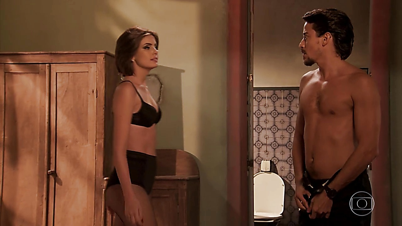 Jesuita Barbosa sexy shirtless scene April 10, 2019, 11am