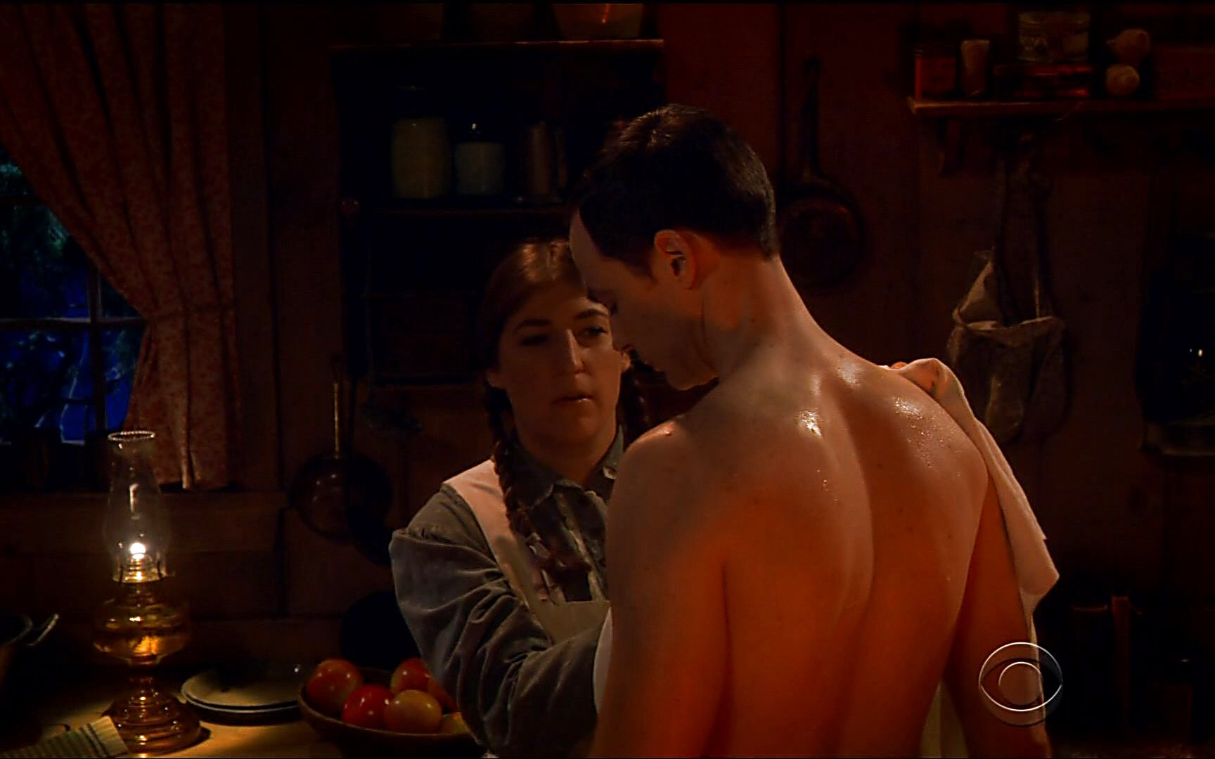 Jim Parsons sexy shirtless scene February 22, 2015, 5pm
