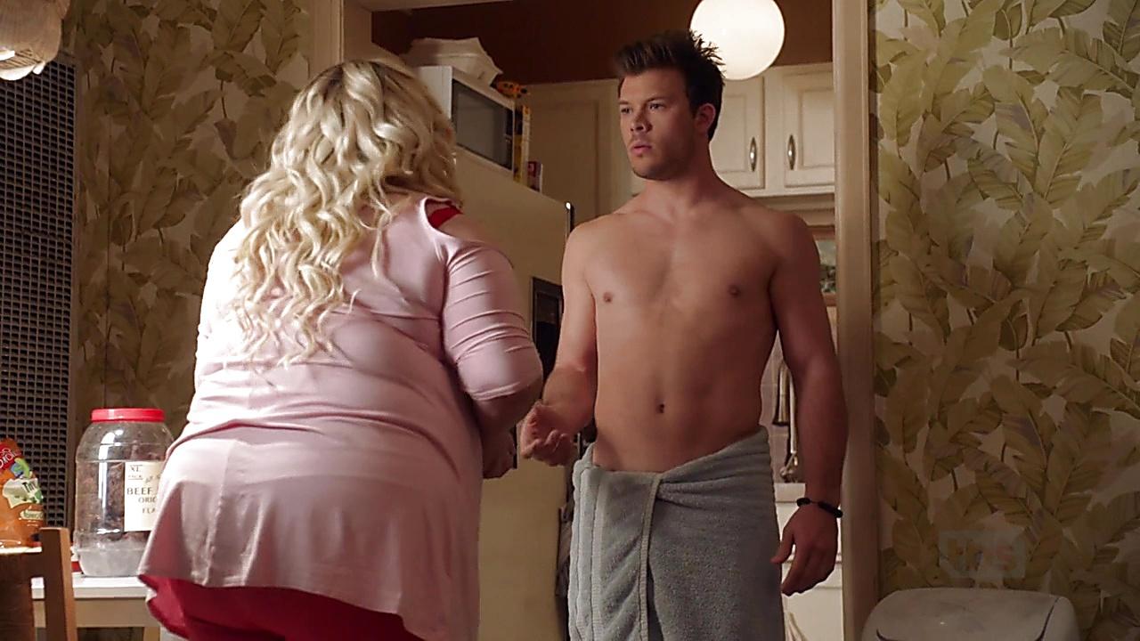 Jimmy Tatro sexy shirtless scene November 14, 2018, 11am