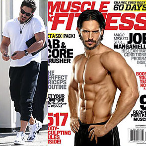 Joe Manganiello latest sexy shirtless August 26, 2015, 7pm