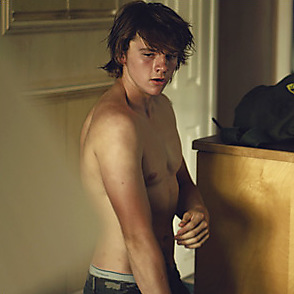 Joel Courtney latest sexy shirtless September 9, 2016, 1pm