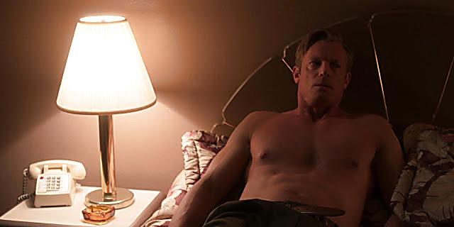 Joel Kinnaman sexy shirtless scene April 21, 2021, 5am