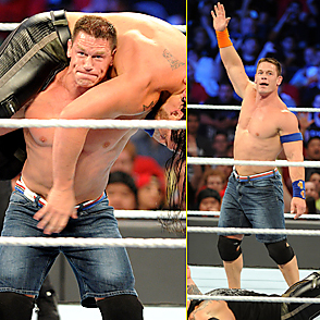 John Cena latest sexy shirtless August 21, 2017, 2am