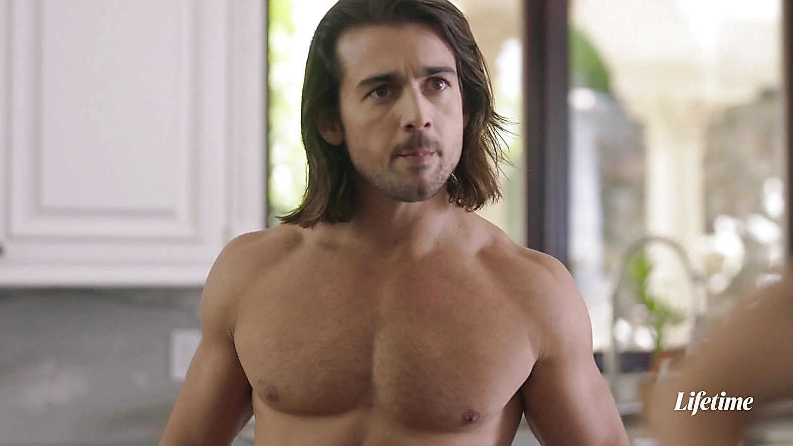John Deluca sexy shirtless scene March 25, 2020, 12pm