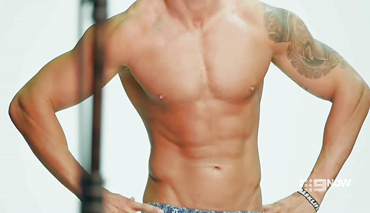 John James sexy shirtless scene June 12, 2018, 10am