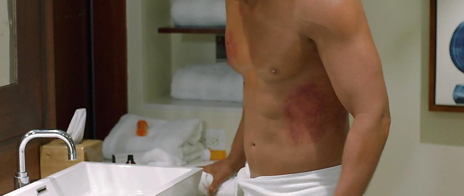 John Travolta sexy shirtless scene November 21, 2018, 12pm