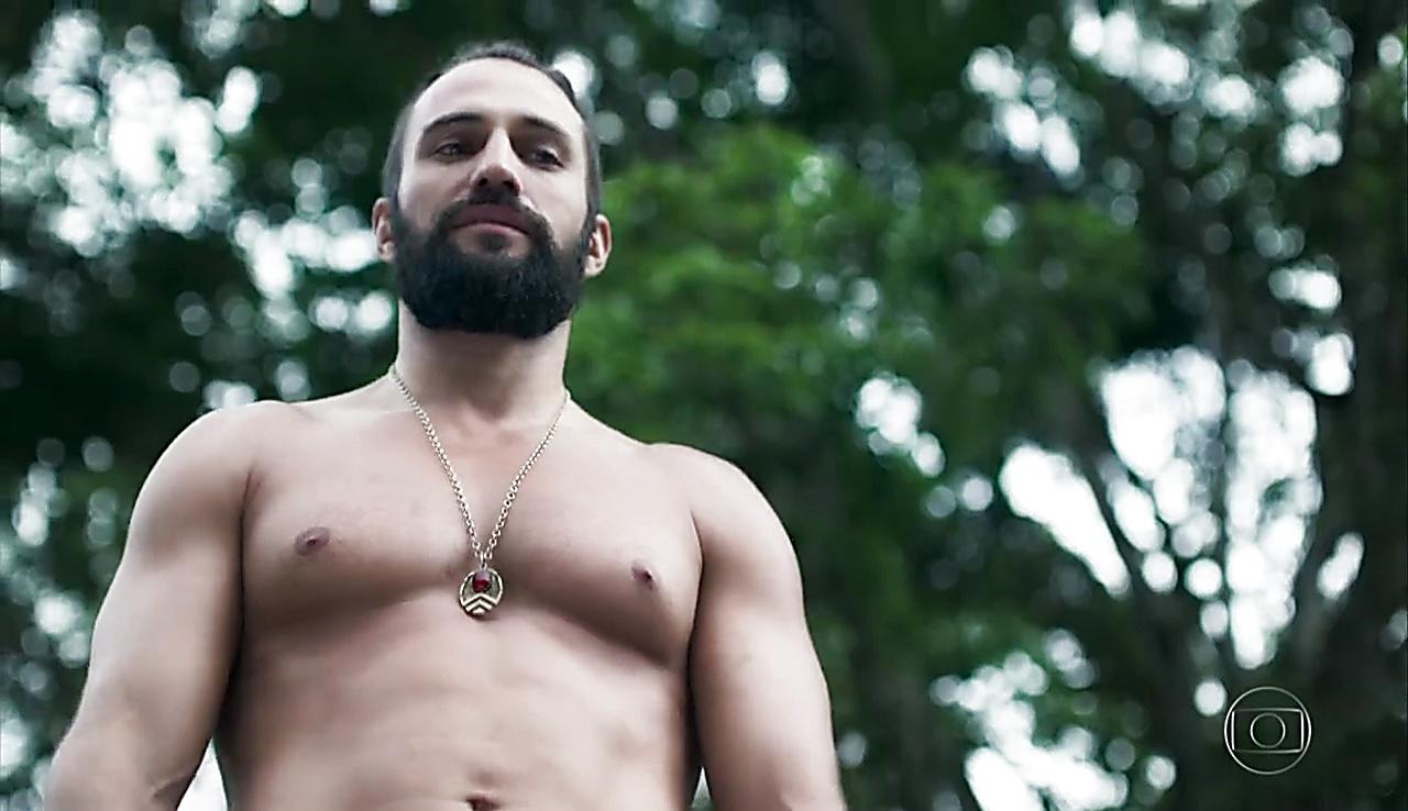 Johnny Massaro sexy shirtless scene January 22, 2018, 1pm