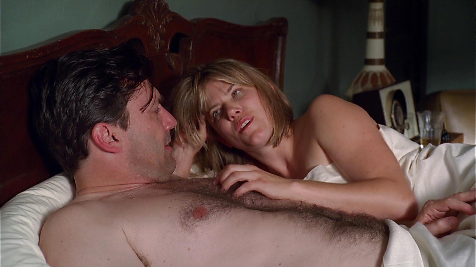 Jon Hamm sexy shirtless scene April 16, 2020, 6am