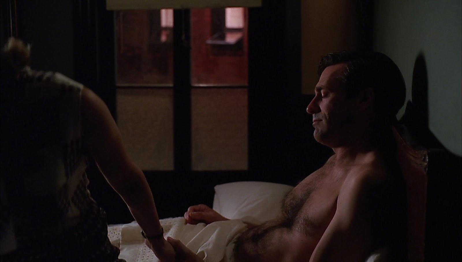 Jon Hamm sexy shirtless scene March 29, 2017, 1pm