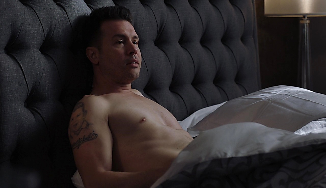 Jon Seda sexy shirtless scene February 4, 2018, 9am