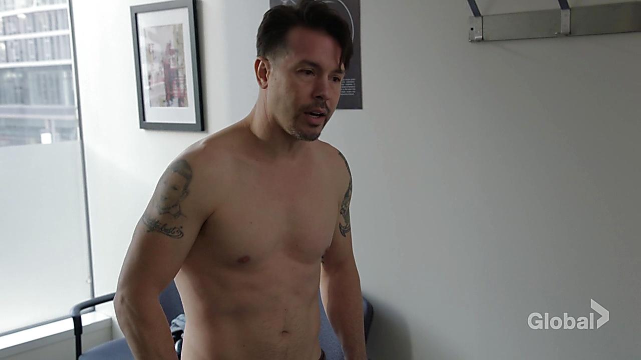 Jon Seda sexy shirtless scene December 6, 2018, 12pm