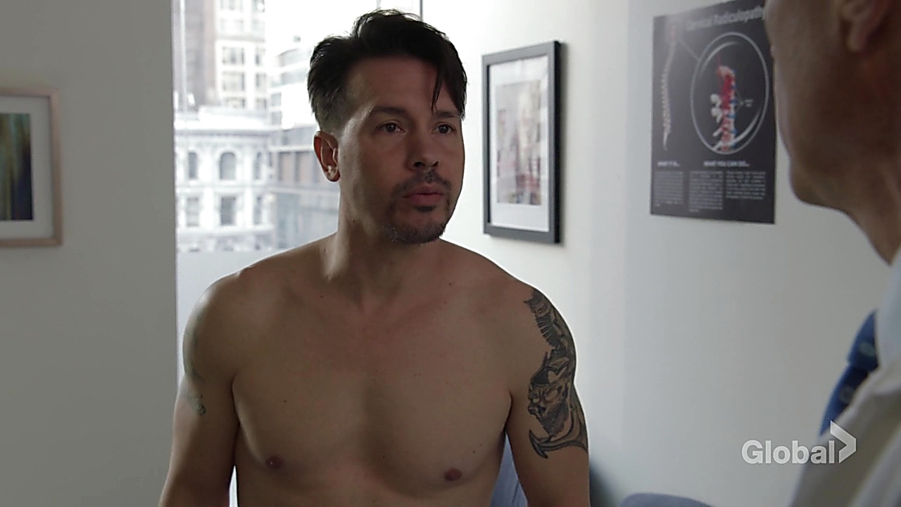 Jon Seda latest sexy shirtless scene December 6, 2018, 12pm