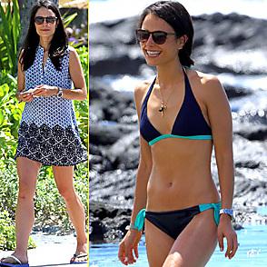 Jordana Brewster latest sexy shirtless August 31, 2014, 11am