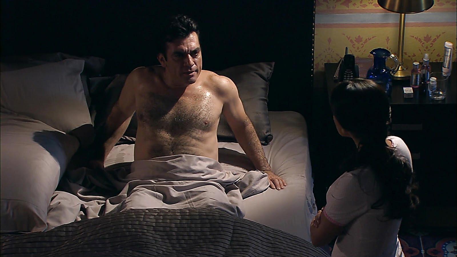 Jorge Salinas sexy shirtless scene February 5, 2020, 6am