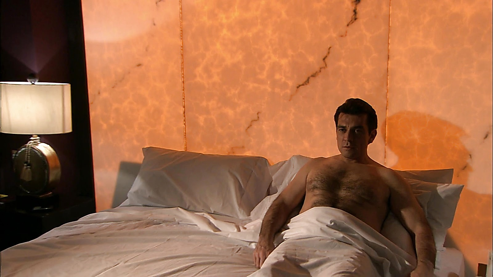 Jorge Salinas sexy shirtless scene February 23, 2020, 1pm