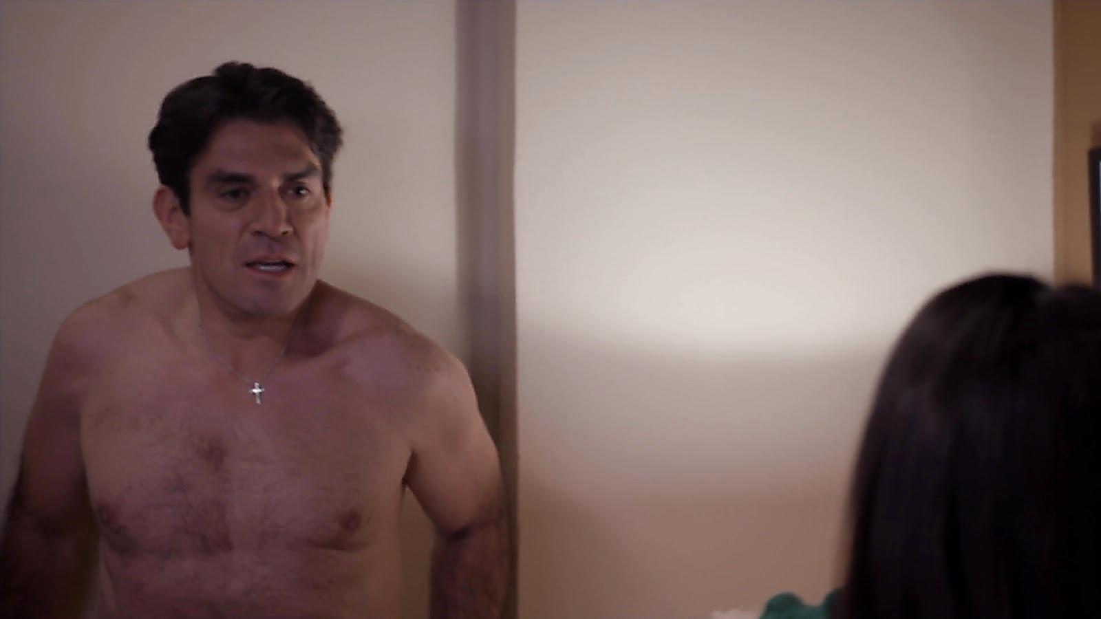 Jorge Salinas sexy shirtless scene July 20, 2020, 12pm