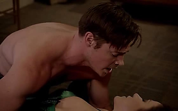 Josh Henderson sexy shirtless scene August 24, 2014, 9pm