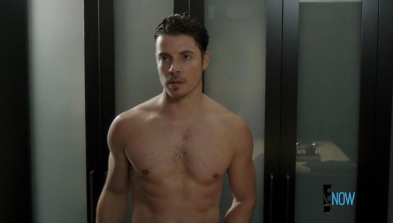 Josh Henderson sexy shirtless scene February 20, 2017, 1pm