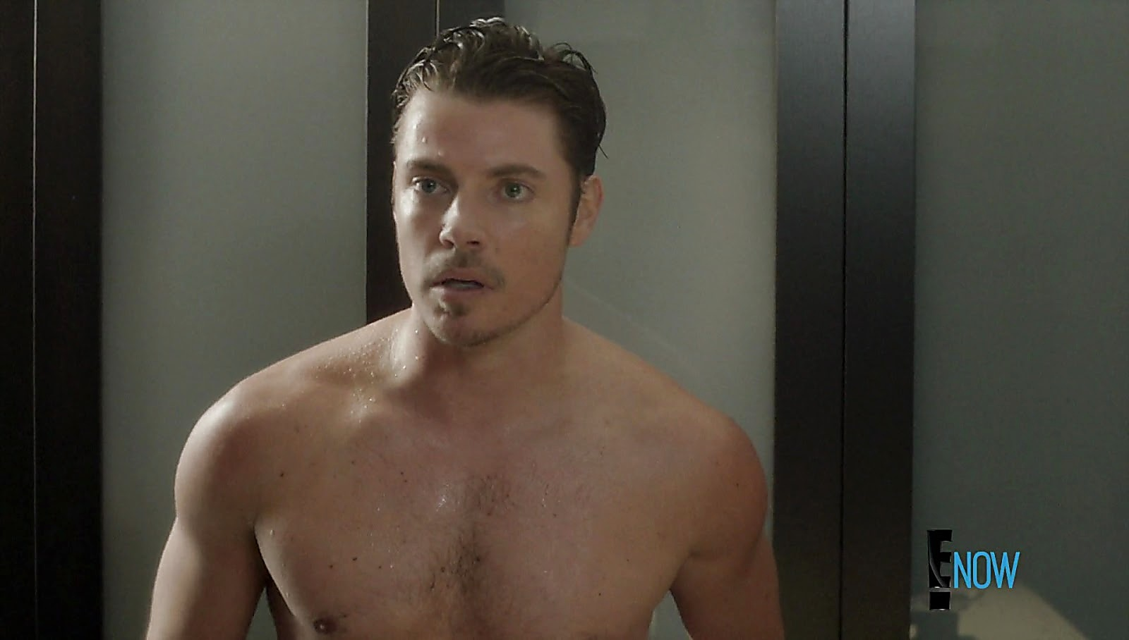 Josh Henderson sexy shirtless scene February 20, 2017, 1pm