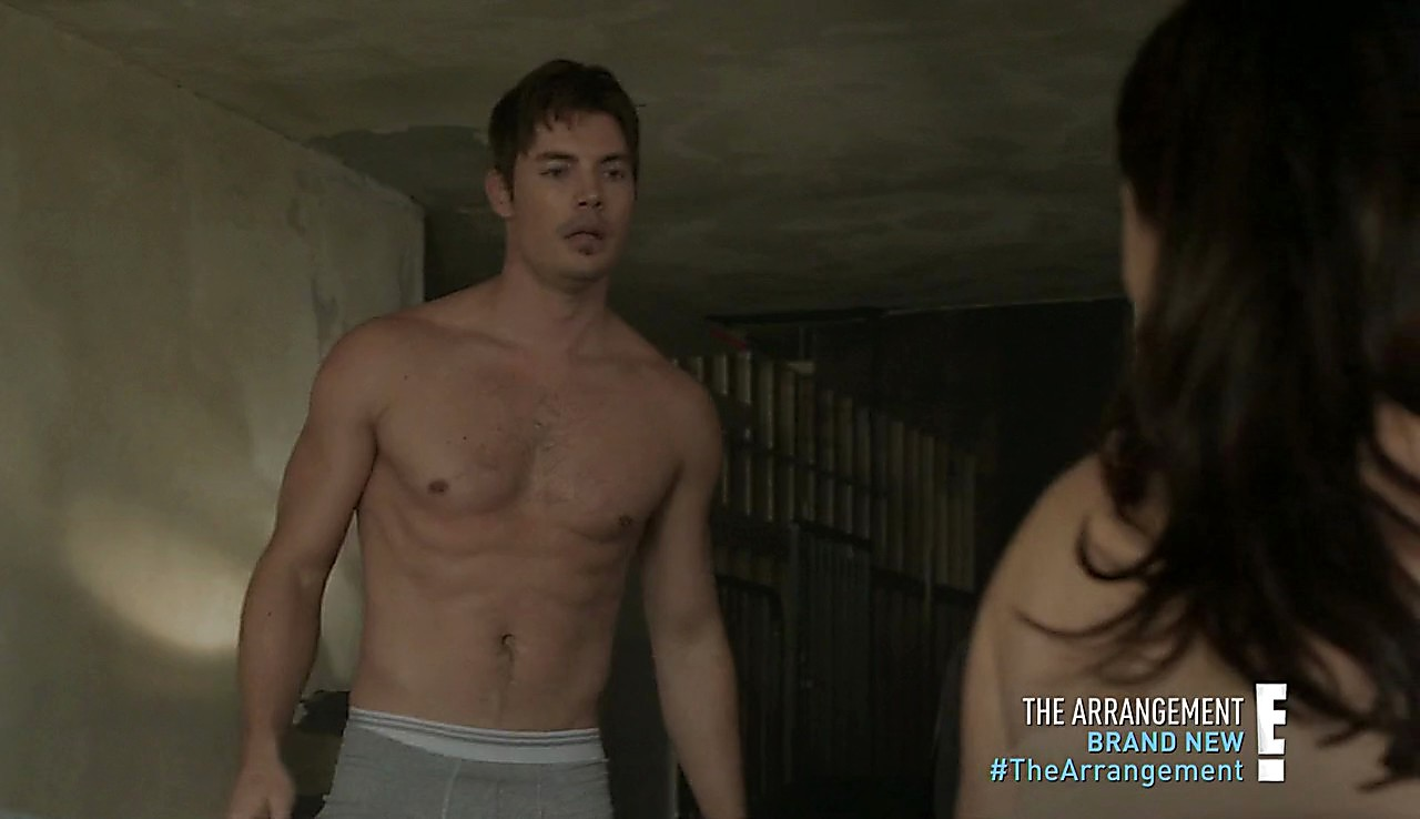 Josh Henderson sexy shirtless scene May 2, 2017, 12pm