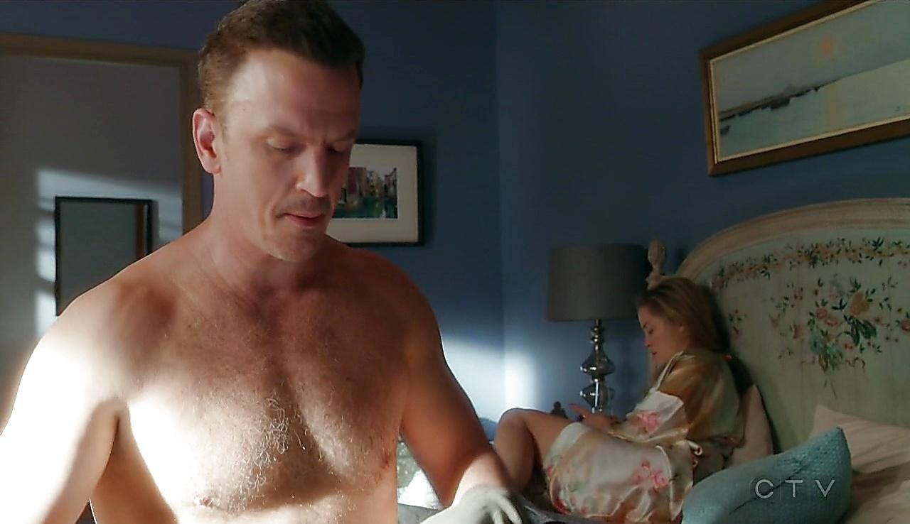 Josh Randall sexy shirtless scene October 23, 2017, 1pm