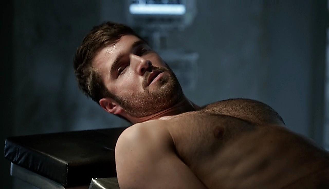 Joshua Bowman sexy shirtless scene March 20, 2017, 2pm