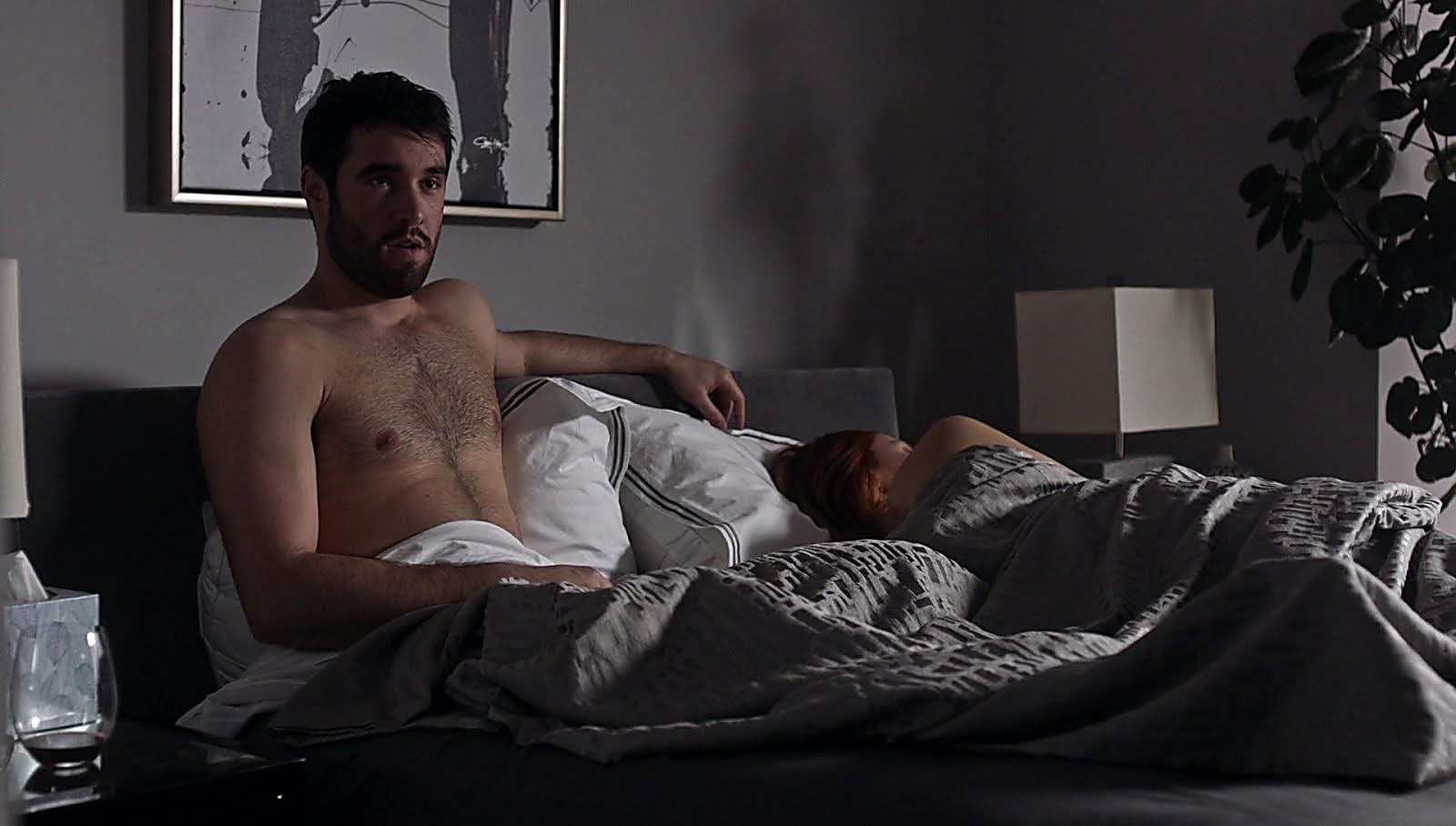 Joshua Bowman sexy shirtless scene September 1, 2017, 5am