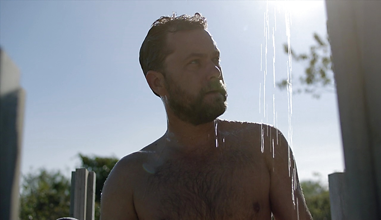 Joshua Jackson sexy shirtless scene June 24, 2018, 1pm