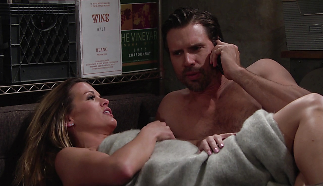 Joshua Morrow sexy shirtless scene August 4, 2017, 11am