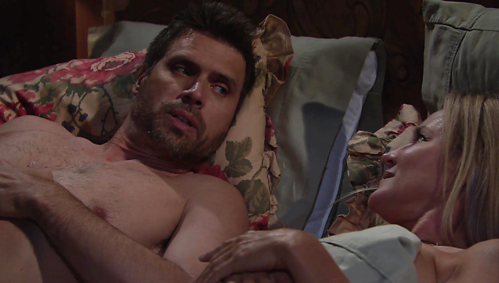 Joshua Morrow sexy shirtless scene May 9, 2018, 11am