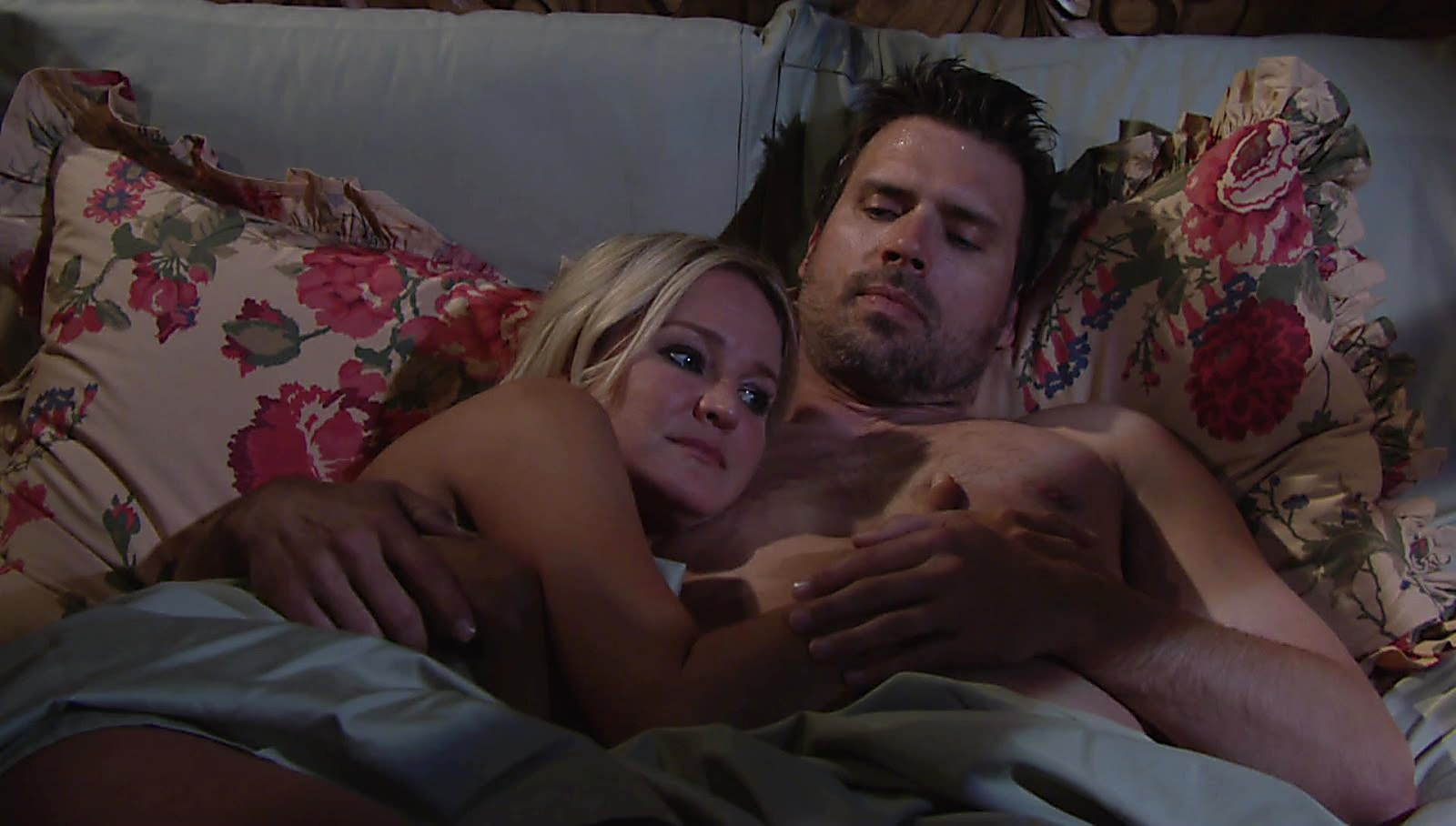 Joshua Morrow sexy shirtless scene May 22, 2018, 12pm