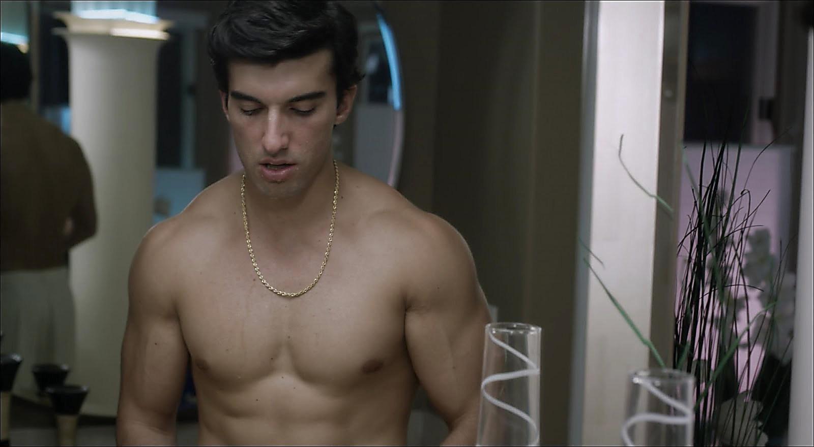 Justin Baldoni sexy shirtless scene March 10, 2018, 9am