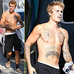 Justin Bieber latest sexy shirtless September 18, 2017, 12pm