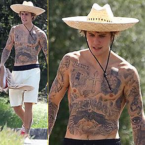 Justin Bieber latest sexy shirtless April 8, 2018, 8pm