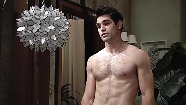 Justin Gaston sexy shirtless scene December 26, 2020, 7am