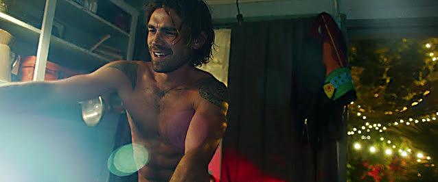K J Apa sexy shirtless scene December 11, 2020, 5am