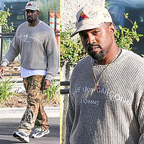 Kanye West latest sexy shirtless June 8, 2017, 7am