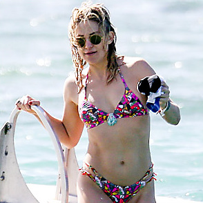 Kate Hudson latest sexy shirtless April 4, 2017, 8pm