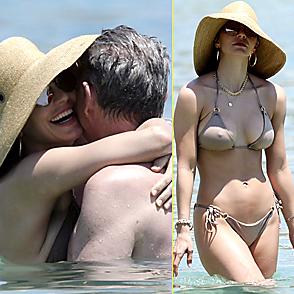 Katharine Mcphee latest sexy shirtless June 24, 2019, 2pm