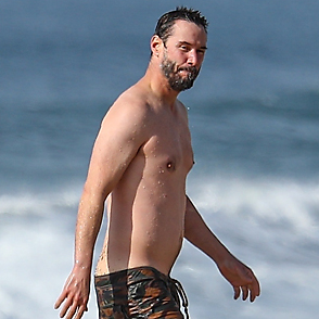 Keanu Reeves latest sexy shirtless January 6, 2021, 5pm