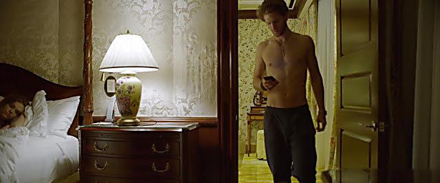 Keegan Allen sexy shirtless scene September 18, 2020, 5am