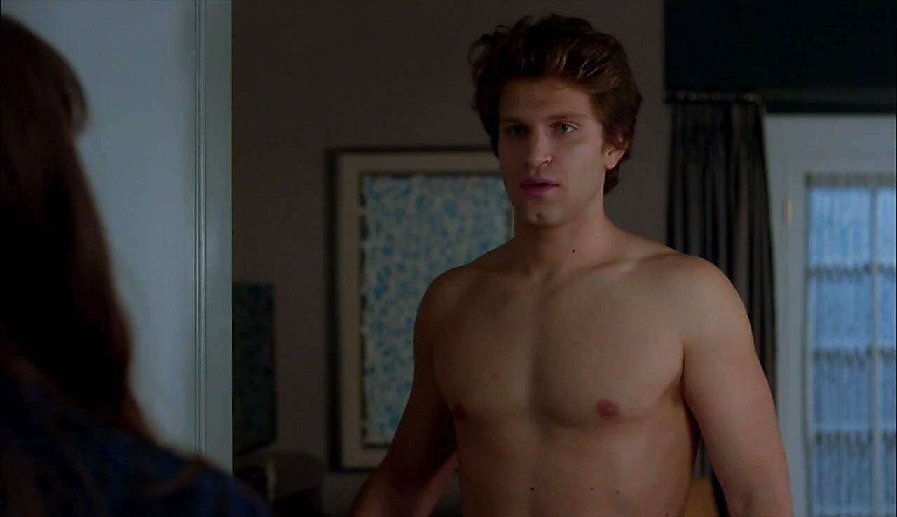 Keegan Allen sexy shirtless scene June 28, 2017, 1pm
