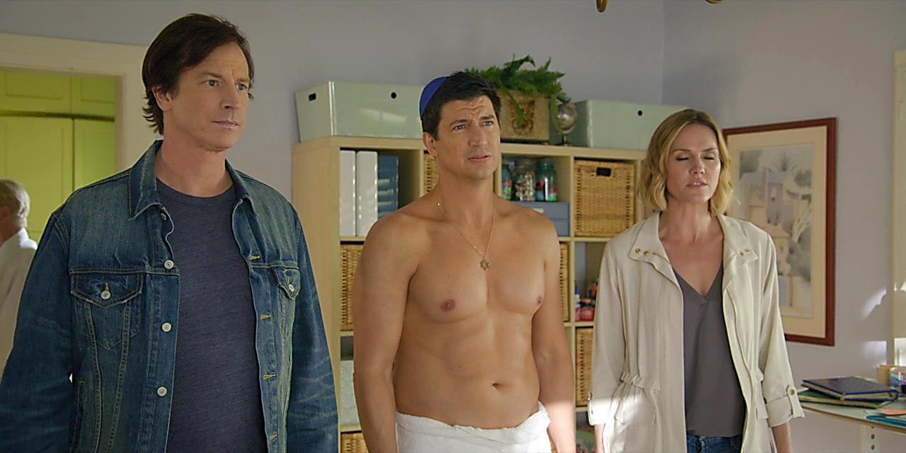 Ken Marino sexy shirtless scene January 10, 2020, 8am