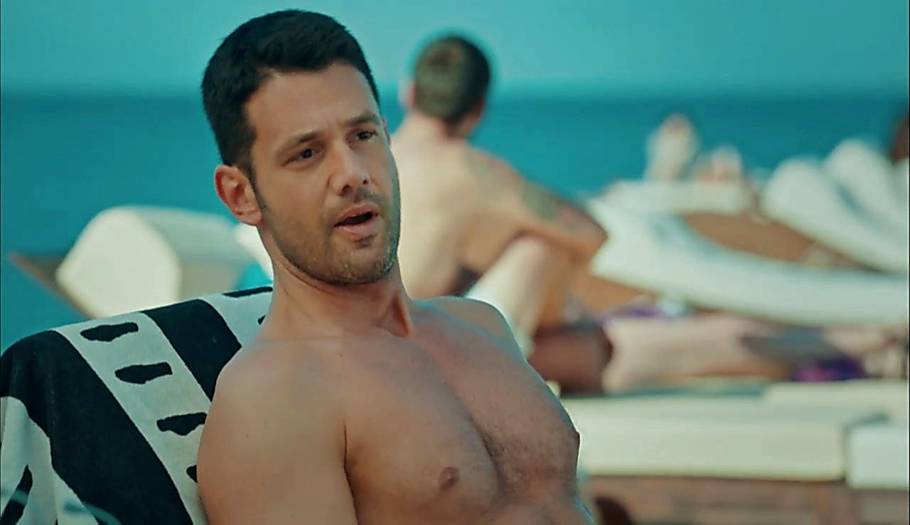 Kerem Cem sexy shirtless scene July 11, 2017, 12pm