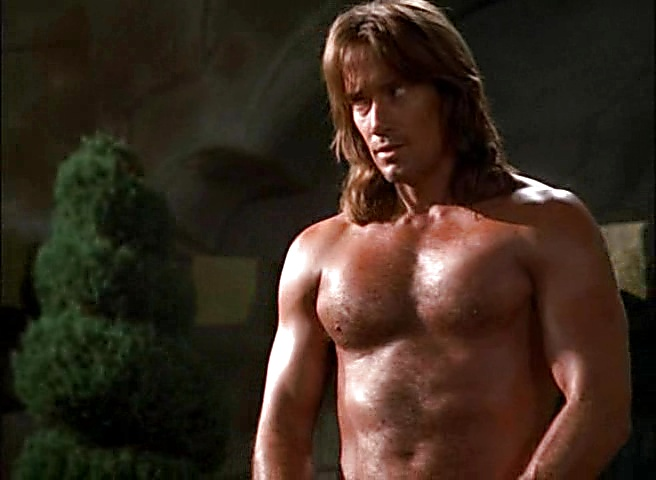 Kevin Sorbo sexy shirtless scene October 21, 2018, 1pm