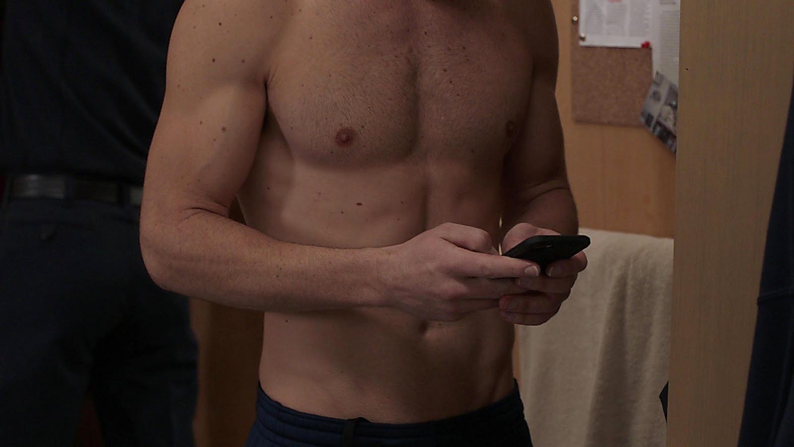 Lachlan Buchanan sexy shirtless scene April 15, 2020, 6am