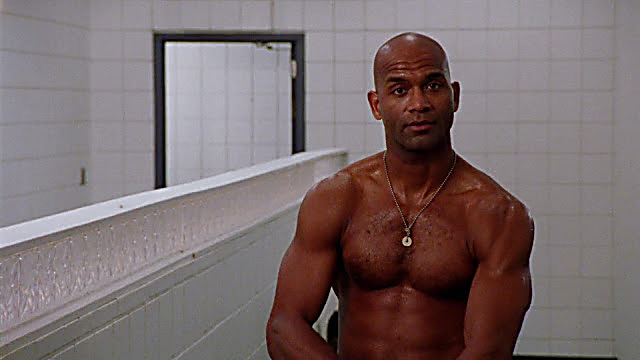 Larry Doby sexy shirtless scene February 17, 2021, 5am