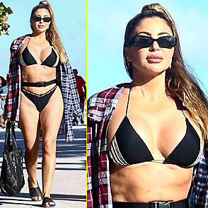Larsa Pippen latest sexy shirtless February 27, 2021, 10pm