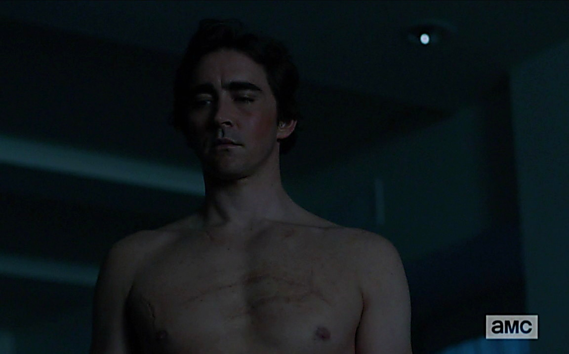Lee Pace sexy shirtless scene June 22, 2014, 4pm
